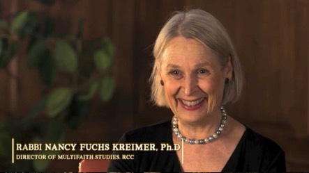 "Rabbi Nancy Fuchs Kreimer, Ph.D, interviewee on ""The Chosen People? A Film about Jewish Identity"""